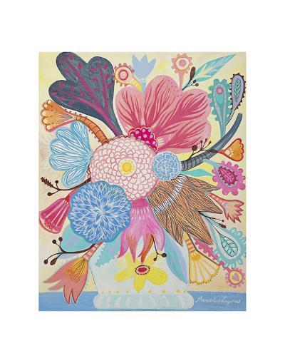 Flowers n. 1-Mercedes Lagunas-Art Print