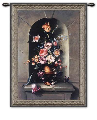 Flowers of Antiquity I-Riccardo Bianchi-Wall Tapestry