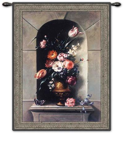 Flowers of Antiquity II-Riccardo Bianchi-Wall Tapestry