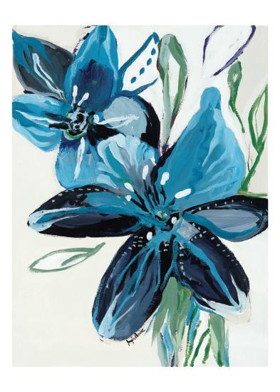 Flowers of Azure II-Angela Maritz-Art Print