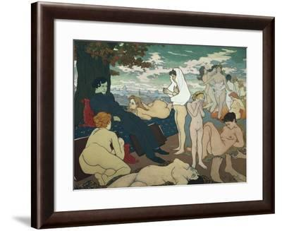 Flowers of Evil by Charles Baudelaire-Charles Maurin-Framed Giclee Print