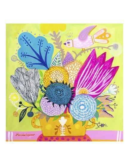Flowers of June-Mercedes Lagunas-Art Print