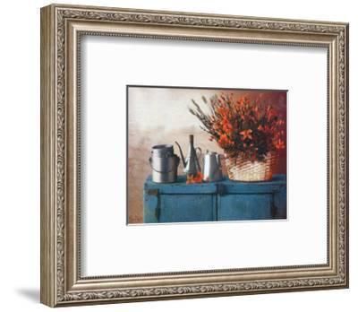 Flowers on Gramma's Sideboard II-M^ De Flaviis-Framed Art Print