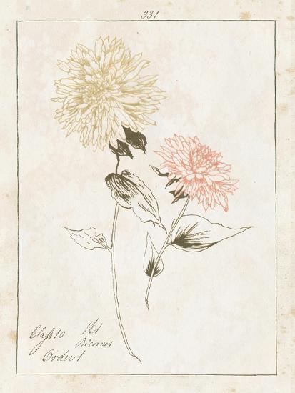 Flowers on White IV with Words-Wild Apple Portfolio-Art Print