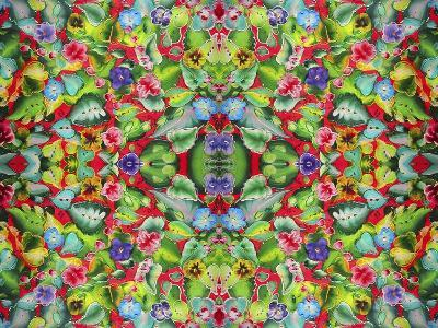 Flowers Pink 715-Howie Green-Giclee Print