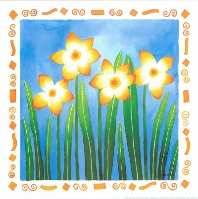 Flowers Reaching For The Sky I-Urpina-Art Print