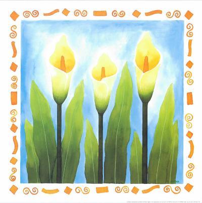 Flowers Reaching For The Sky III-Urpina-Art Print