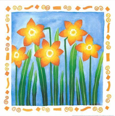 Flowers Reaching For The Sky IV-Urpina-Art Print