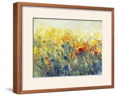 Flowers Sway I-Tim O'toole-Framed Photographic Print