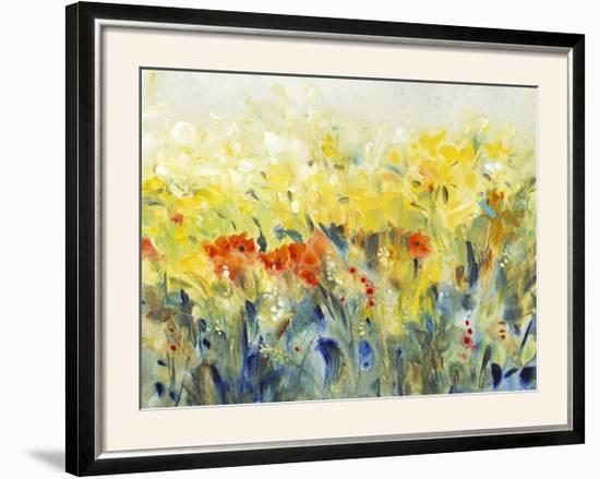 Flowers Sway II-Tim O'toole-Framed Photographic Print