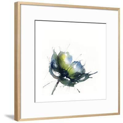 Flowers, Watercolor Illustration-Anna Ismagilova-Framed Art Print