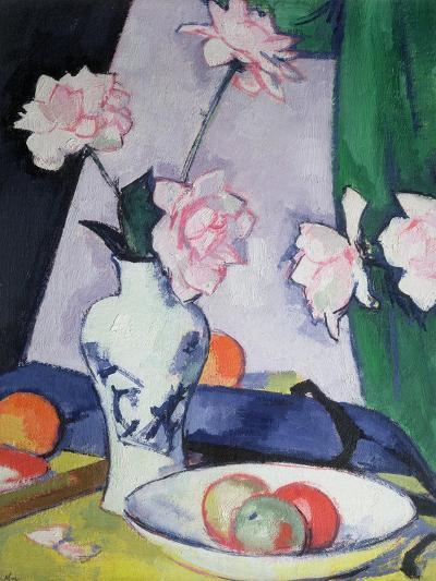 Flowers-Samuel John Peploe-Giclee Print