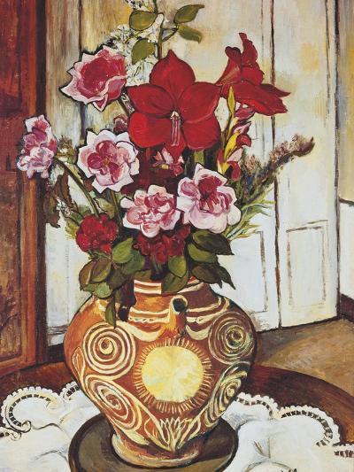 Flowers-Suzanne Valadon-Giclee Print