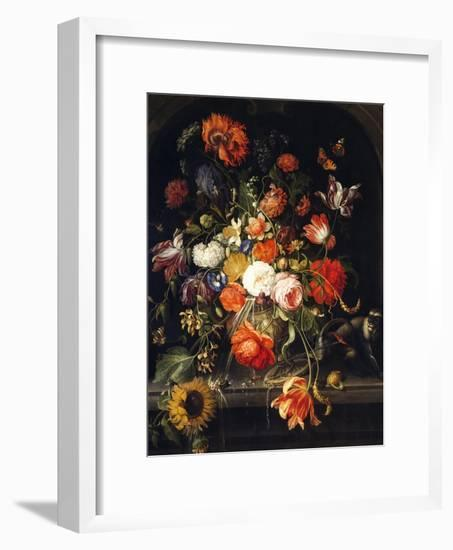 Flowers-Jan van Huysum-Framed Giclee Print