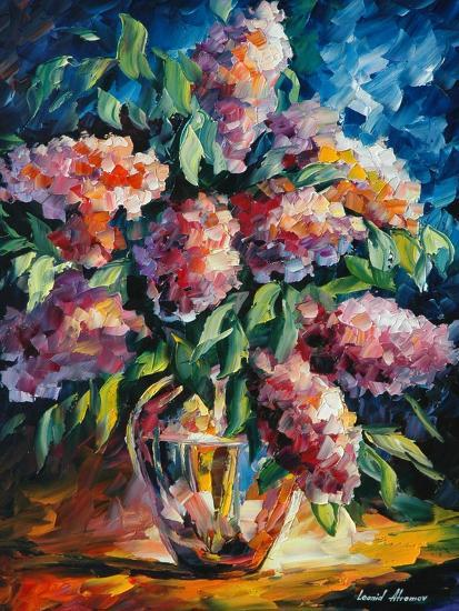 Flowers-Leonid Afremov-Art Print