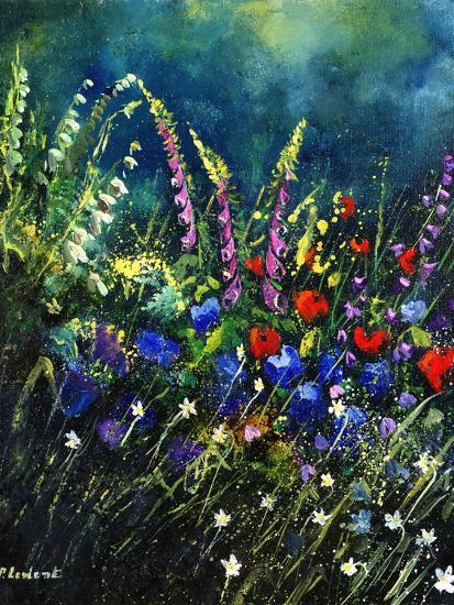 flowers-Pol Ledent-Art Print