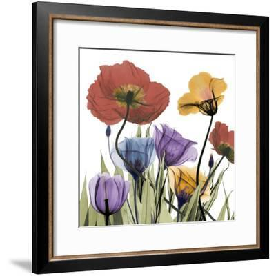 Flowerscape-Albert Koetsier-Framed Art Print