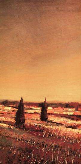 Flowing Fields II-Claire Olivain-Art Print