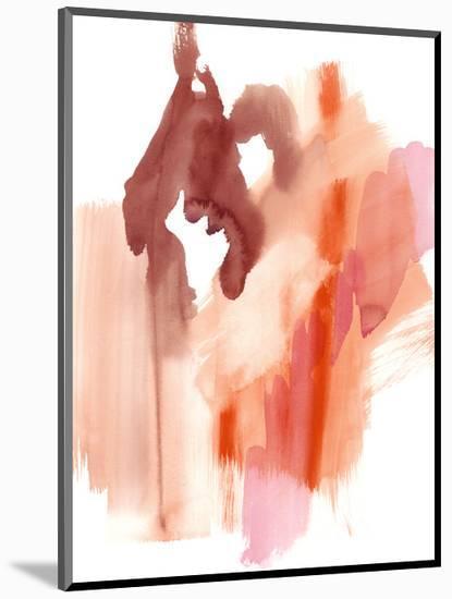 Flowing Sunset I-Jennifer Goldberger-Mounted Art Print