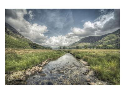 Flowing to Buttermere Lake--Art Print