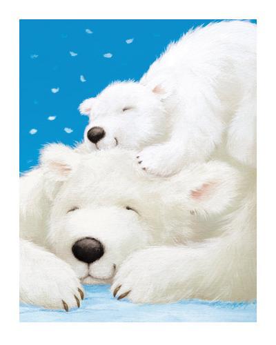 Fluffy Bears II-Alison Edgson-Art Print