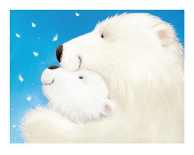 Fluffy Bears III-Alison Edgson-Art Print