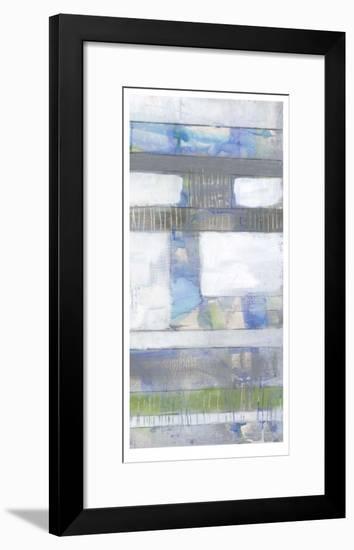 Fluid Neutrals II-Jennifer Goldberger-Framed Limited Edition