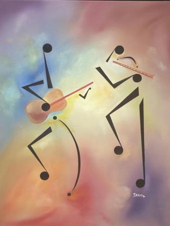 Flutina-Ikahl Beckford-Giclee Print