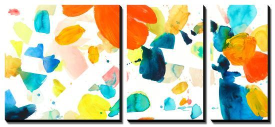 Flutter 3 Canvas Art Set by Allyson Fukushima | Art com