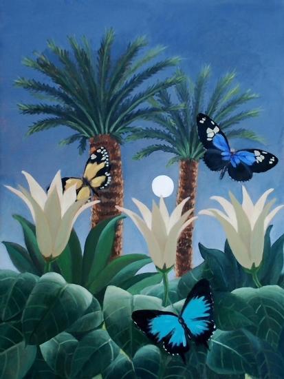 Flutter in the Jungle-ELEANOR FEIN-Giclee Print