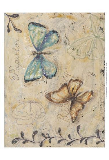 Fluttering Butterflies-Jade Reynolds-Art Print