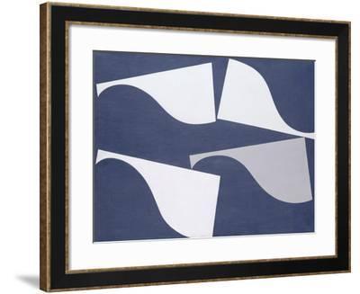 Fluttering Forms, 1935-Sophie Taeuber-Arp-Framed Giclee Print