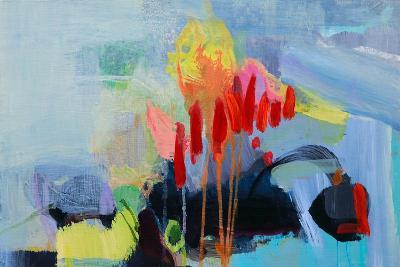 Fluttering My Way Through 3-Lina Alattar-Art Print