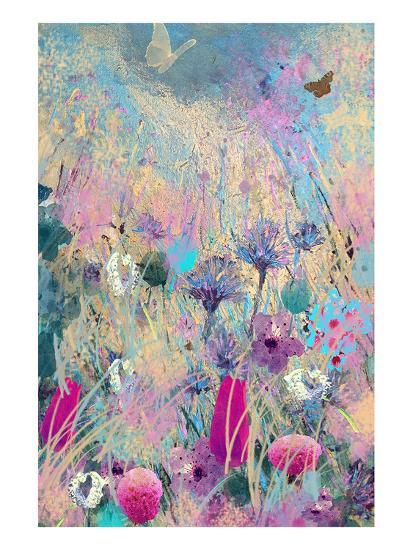 Fly Blue-Claire Westwood-Art Print