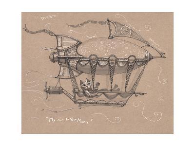 Fly Me to Moon-Jeff Haynie-Giclee Print