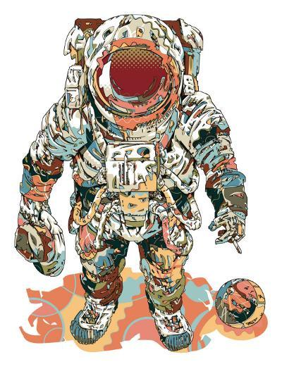 Fly Me To The Moon-HR-FM-Art Print