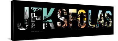 Flycityflash USA-Olivier Lile-Stretched Canvas Print