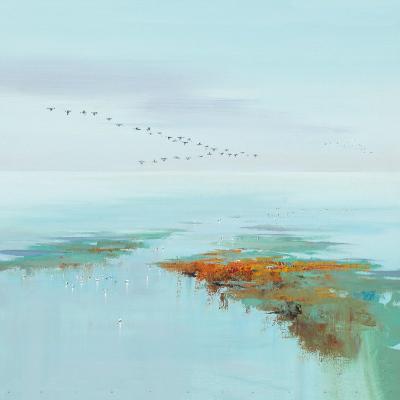 Flying Birds-Jan Groenhart-Art Print
