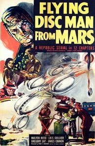 Flying Disc Man From Mars, 1950