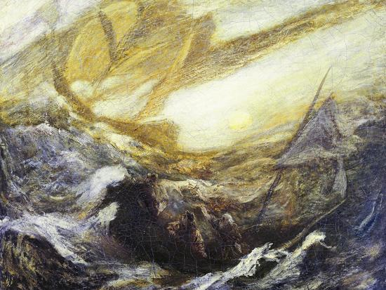 Flying Dutchman-Albert Pinkham Ryder-Giclee Print