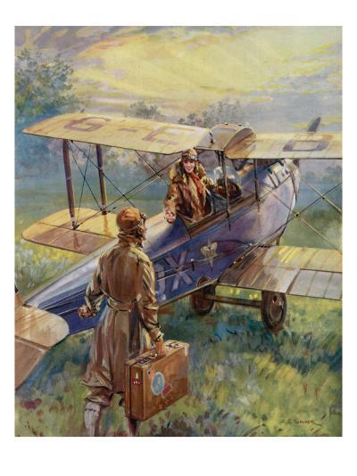 Flying for the Summer Week-End by C.E. Turner--Giclee Print