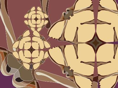 Flying Hibiscus Drops-Belen Mena-Giclee Print