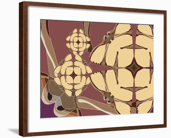 Flying Hibiscus Drops-Belen Mena-Framed Giclee Print