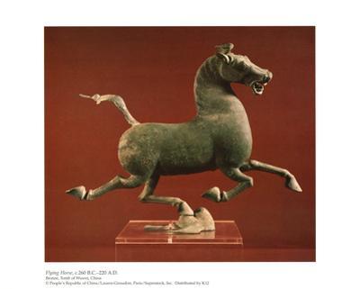 Flying Horse, Bronze Tomb of Wuwei China