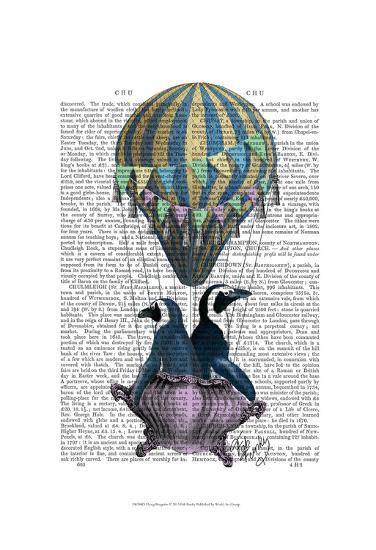 Flying Penguins-Fab Funky-Art Print