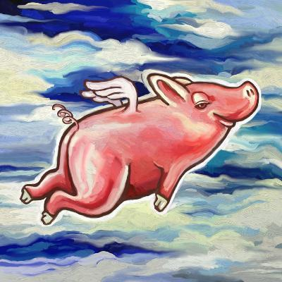 Flying Pig-Howie Green-Giclee Print
