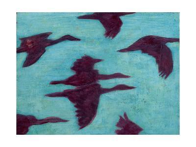 Flying Silhouettes II-Mehmet Altug-Art Print