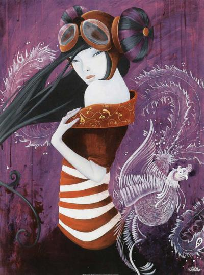 Flymefull-June Leeloo-Art Print