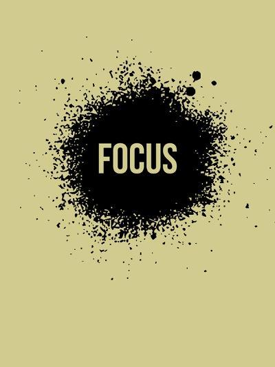 Focus Grey-NaxArt-Art Print