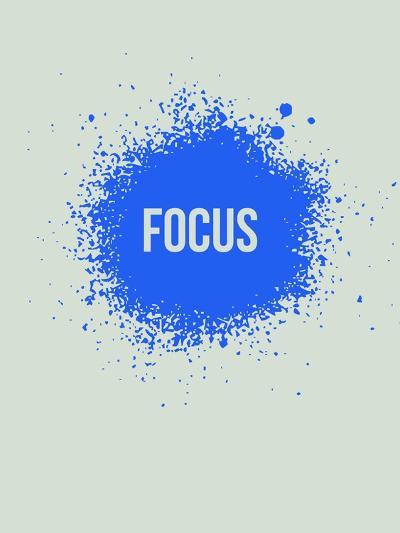 Focus Splatter 1-NaxArt-Art Print